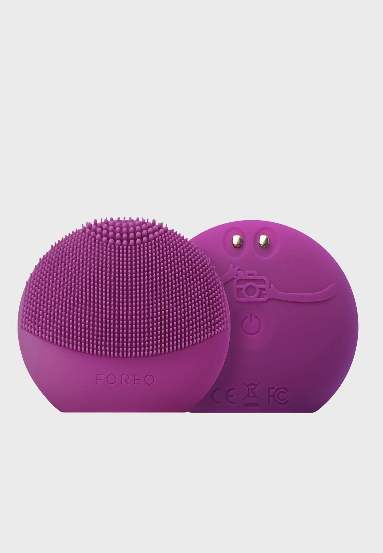 LUNA Fofo Facial Cleansing Brush - Purple