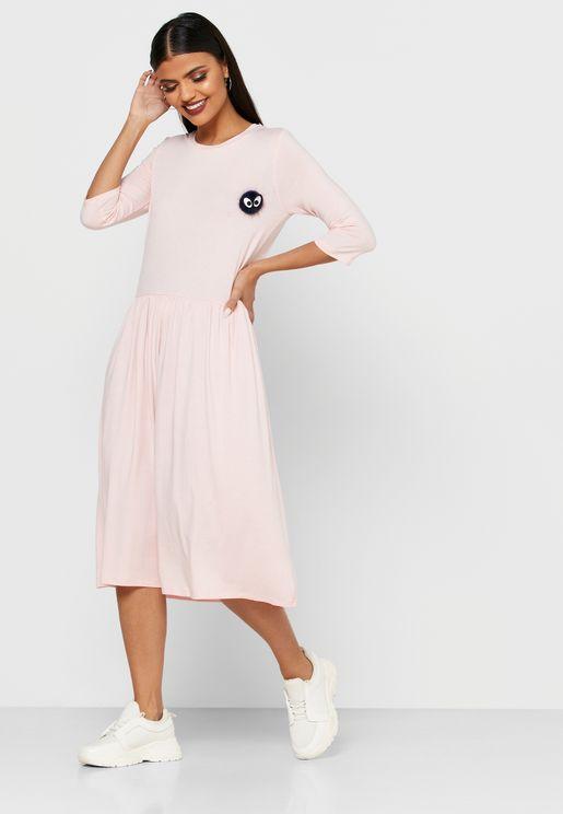فستان بدبوس