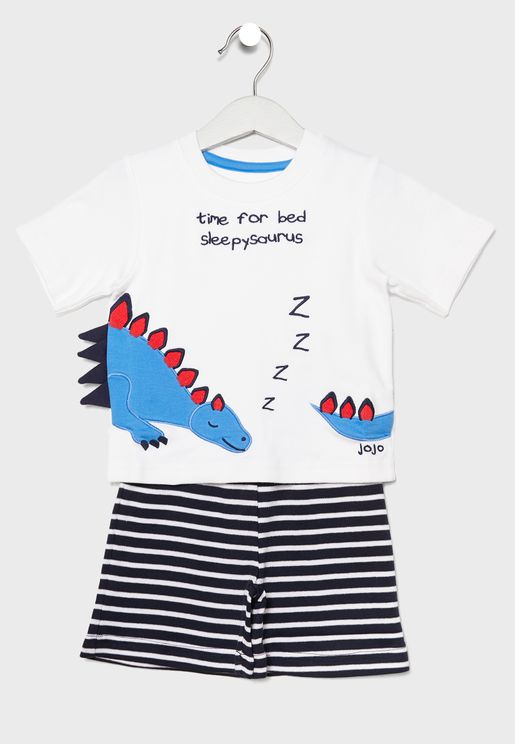 Kids Dinosaur Pyjama Set