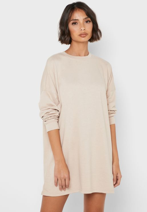 Oversized Sweat Dress