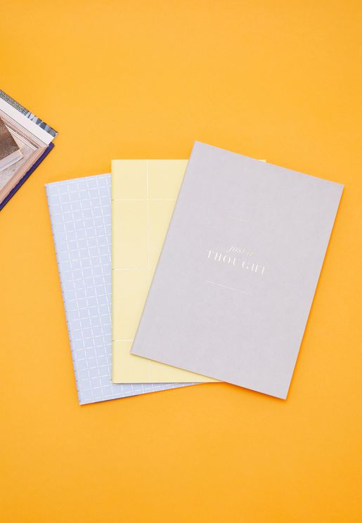 3 Pack A5 Essential Notebook