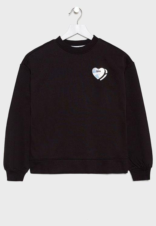 Kids Alpha Sweatshirt