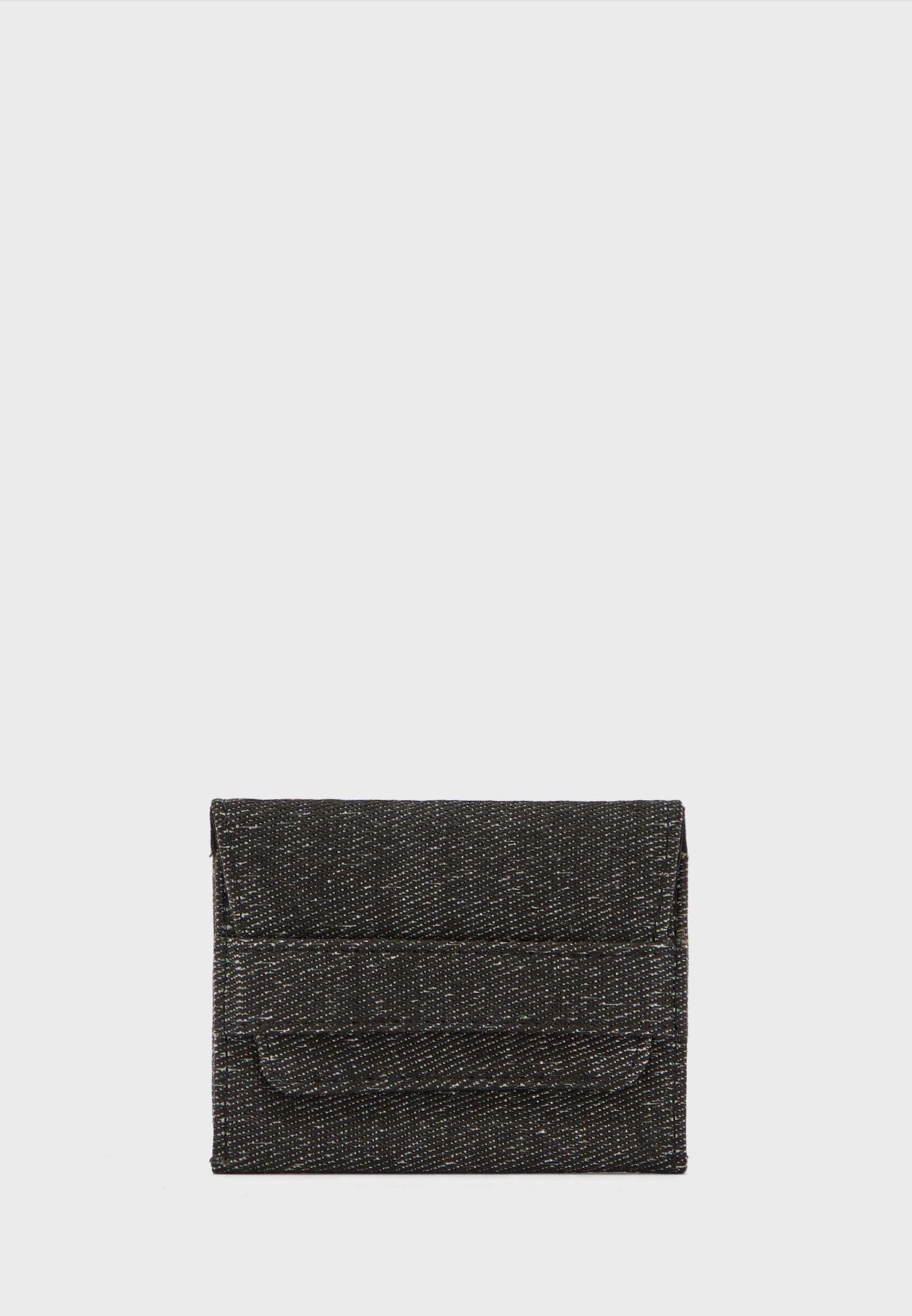 حافظة بطاقات جينز