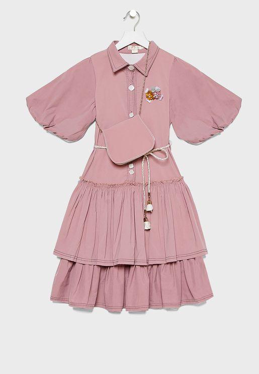 Kids Layered Dress