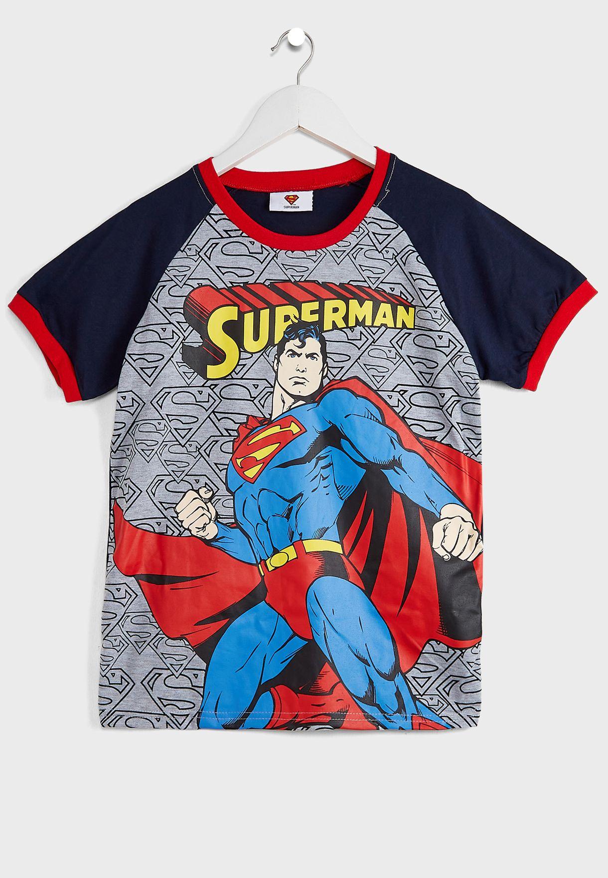 Kids Superman Pyjama Set