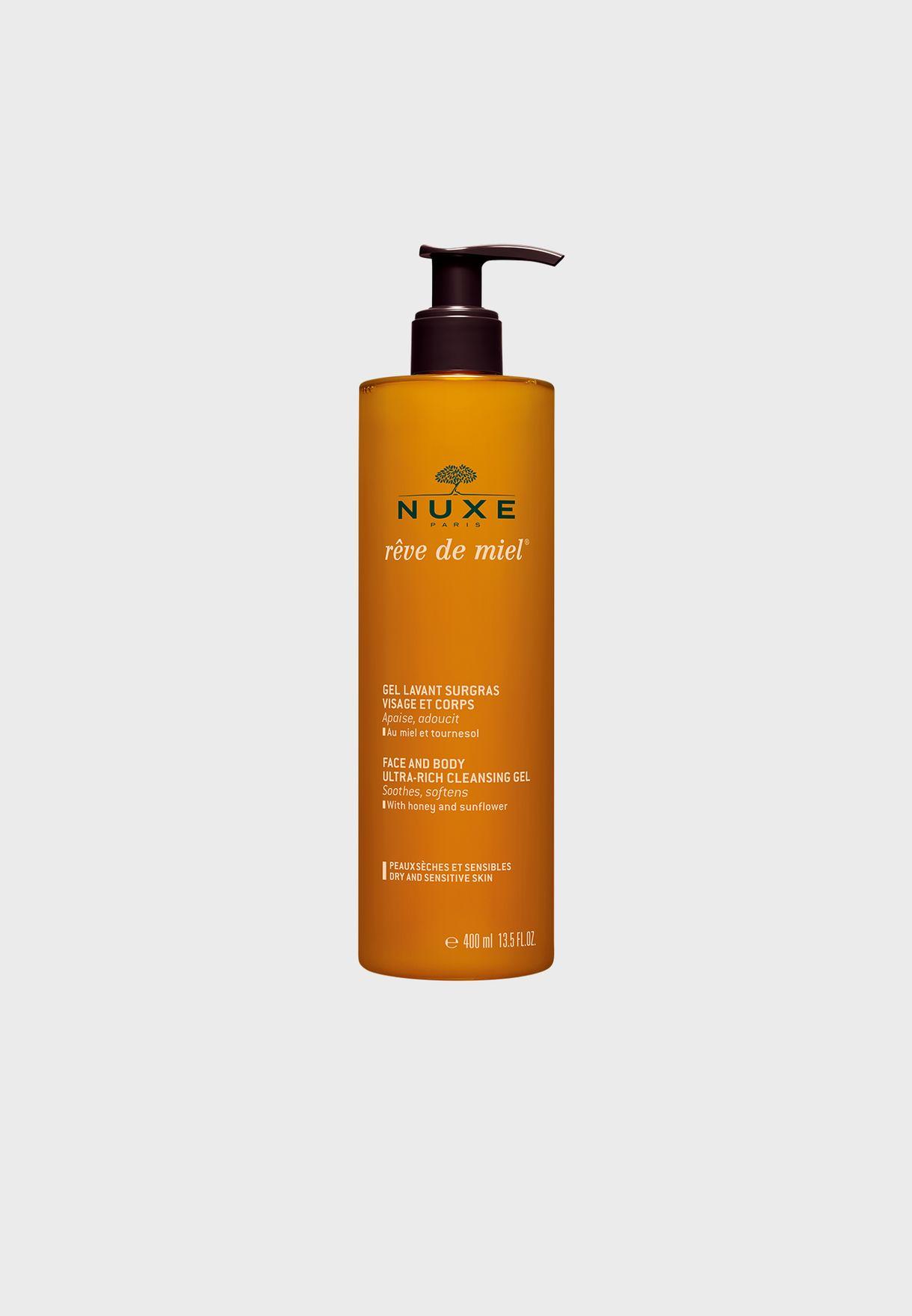 Reve De Miel Face + Body Cleansing Gel 400ml