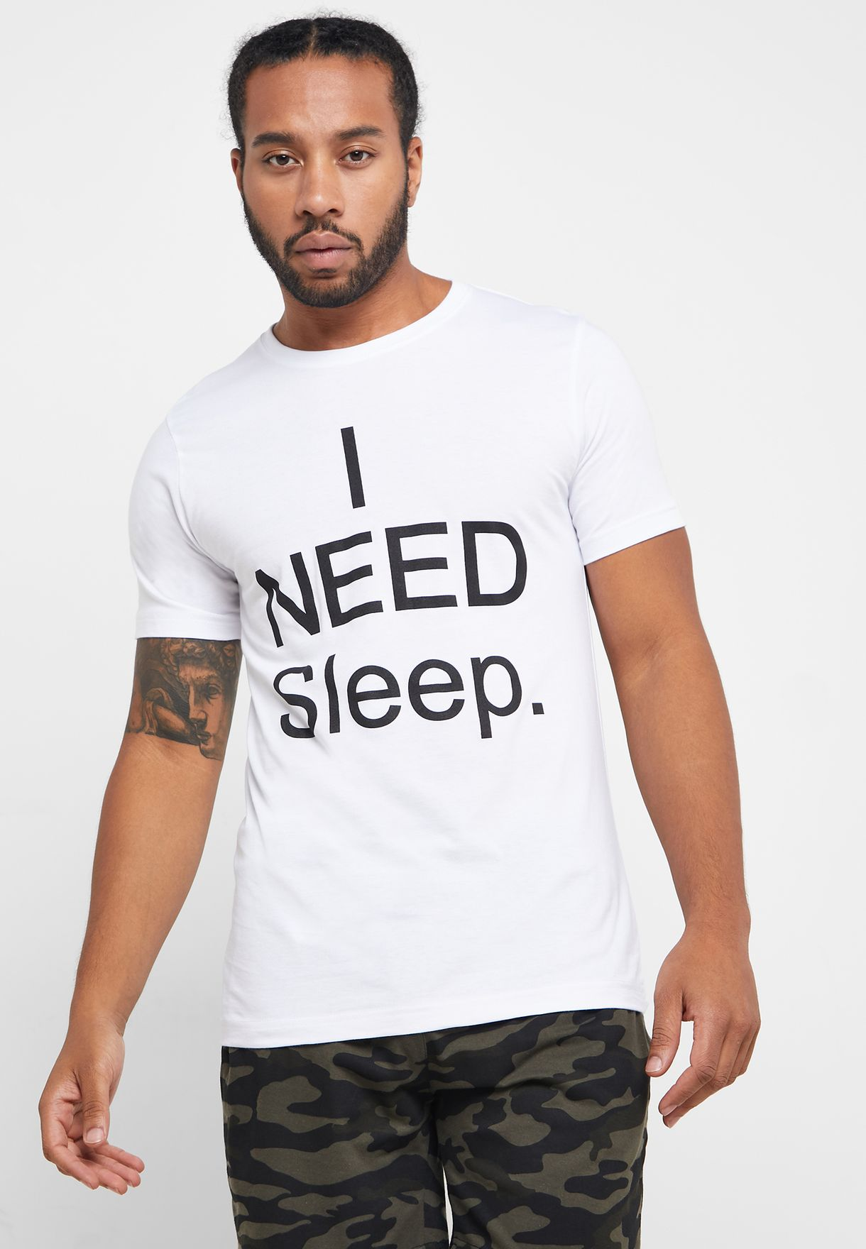 I Need Sleep Nightwear Set