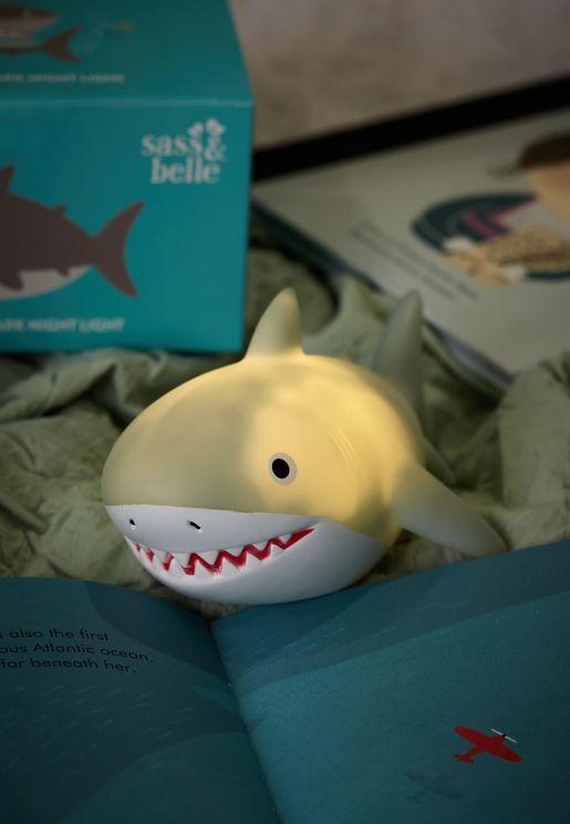 اضاءة ليلية بشكل القرش شيلبي