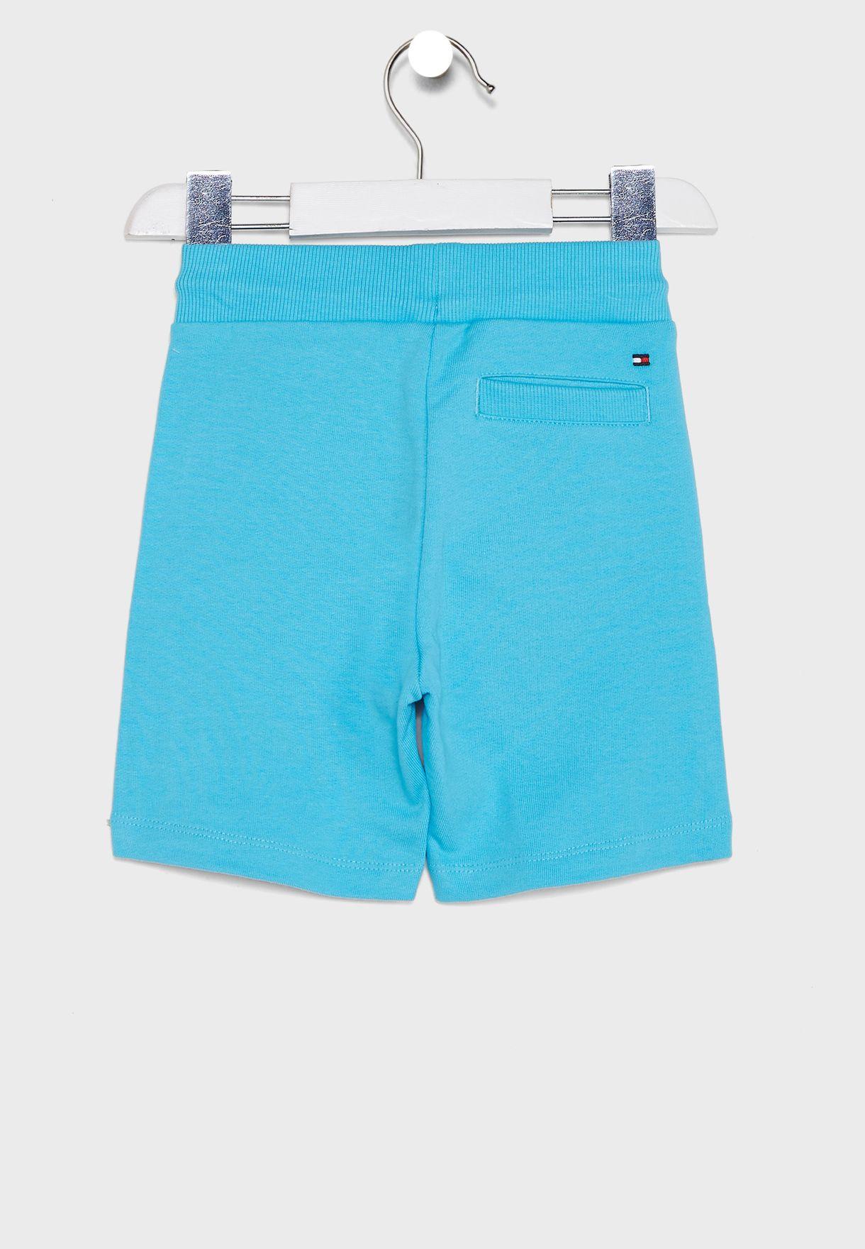 Kids Logo Tie Waist Shorts