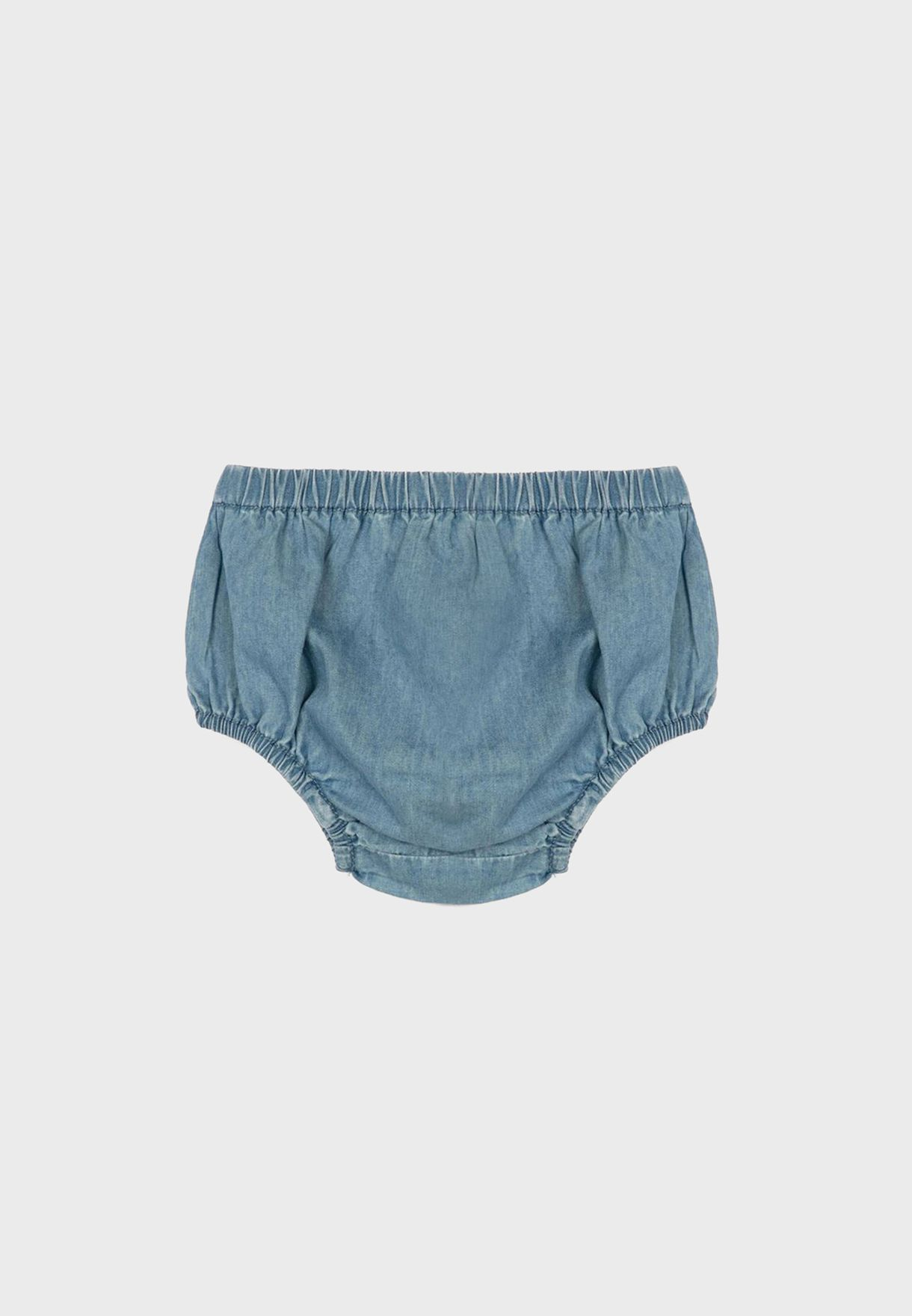 Infant Denim Dress + Knicker Set