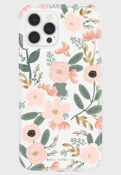 Wild Flowers Micropel Iphone 12/12 Pro/12 Pro Max Case