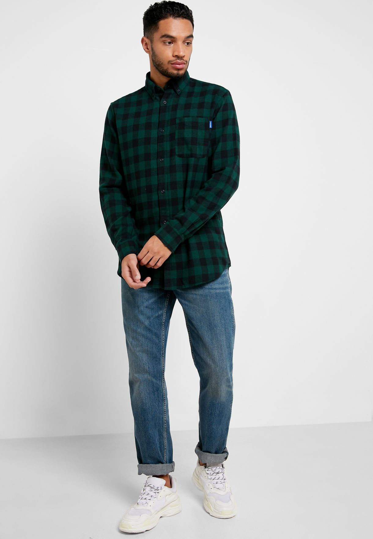Zac Checked Comfort Fit Shirt