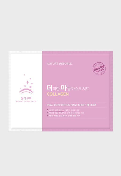 Real Comforting Mask Sheet Co+F16:K16llagen