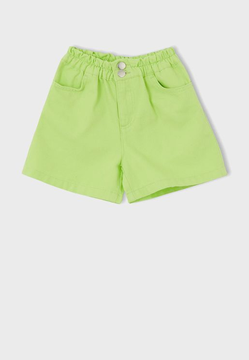 Kids Essential Denim Shorts