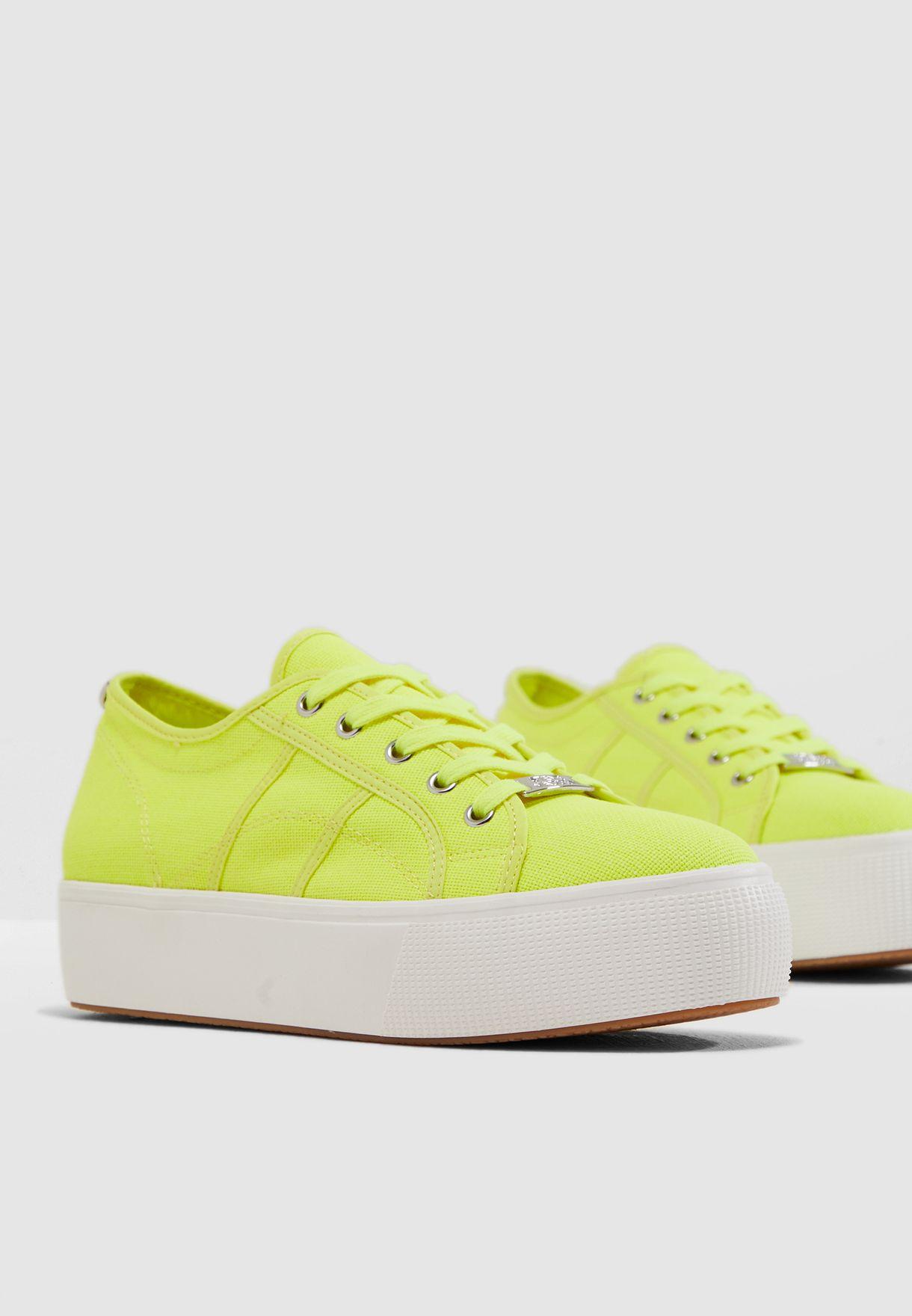 Buy Steve Madden yellow Emmi Sneaker