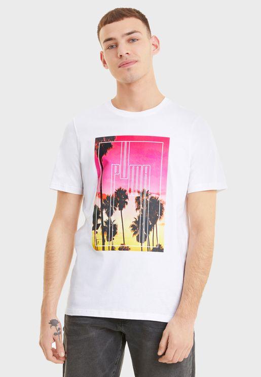 Graphic Photo Printed T-Shirt