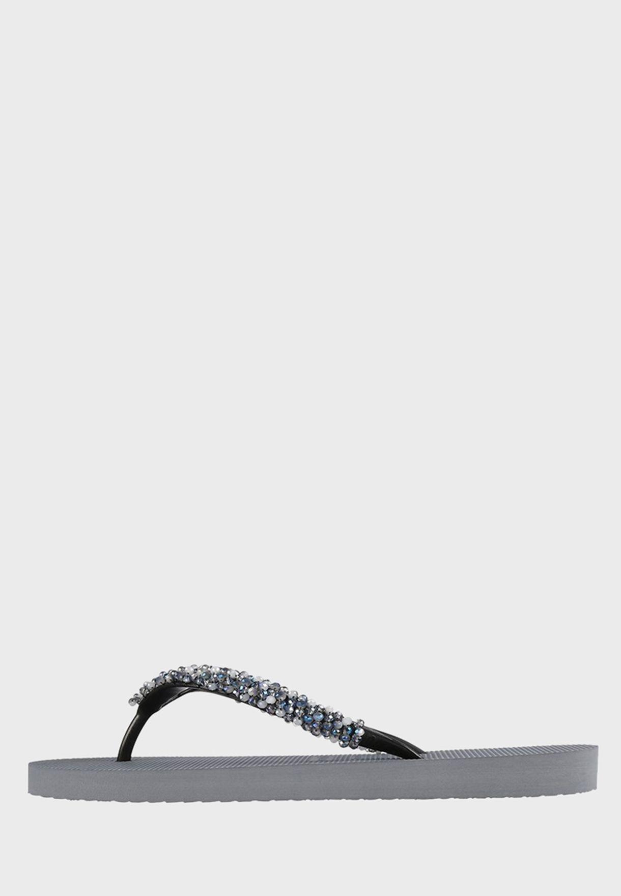 Classic Pearl Detail Flip Flop