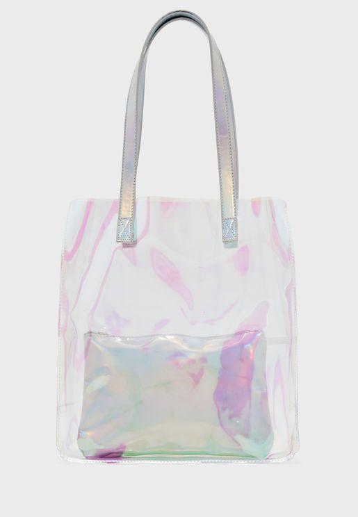 Clear Shopper Bag