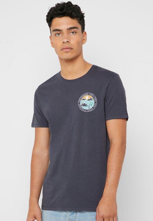 Surf Soul Crew  Neck T-Shirt