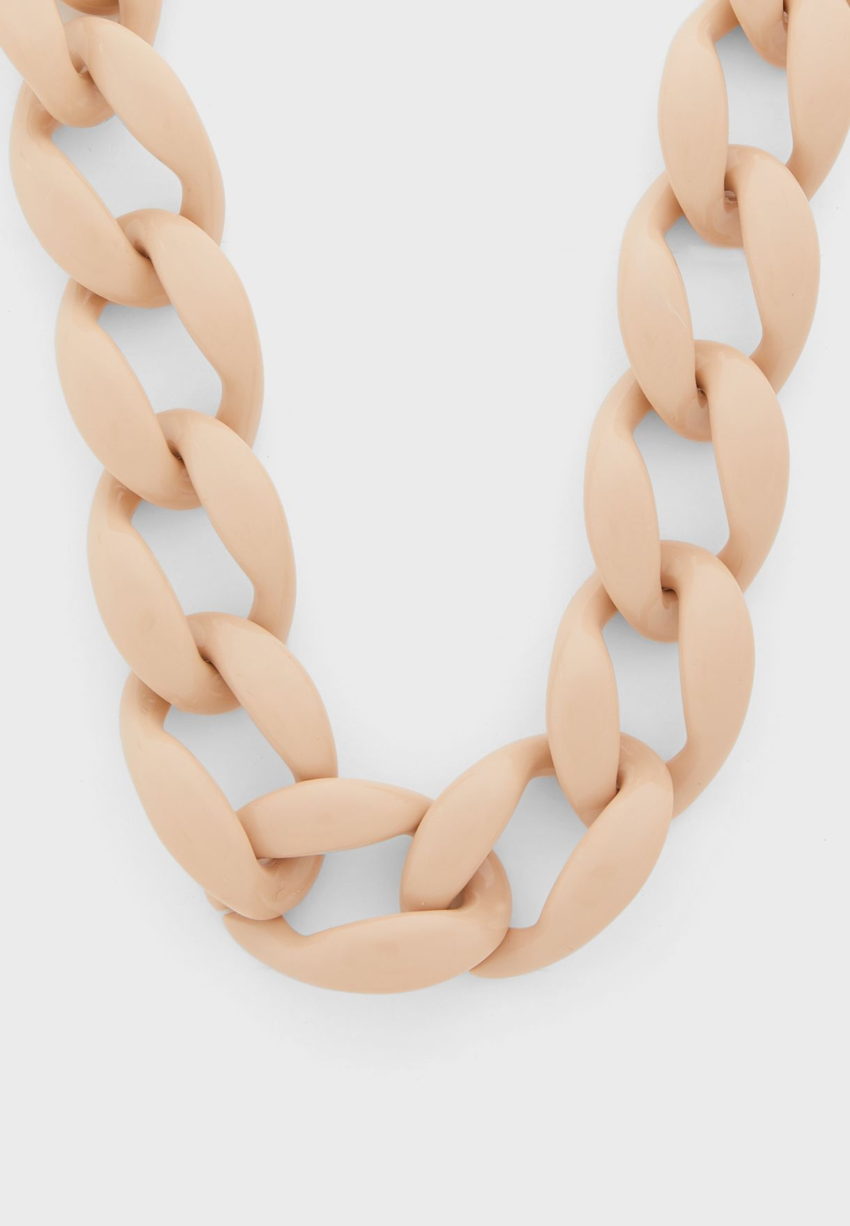Coloured Chunky Chain Necklace