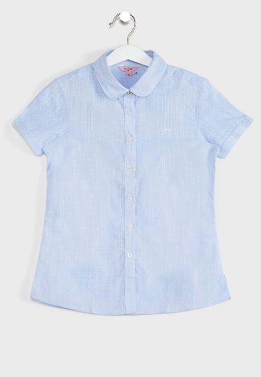 Kids Textured Shirt