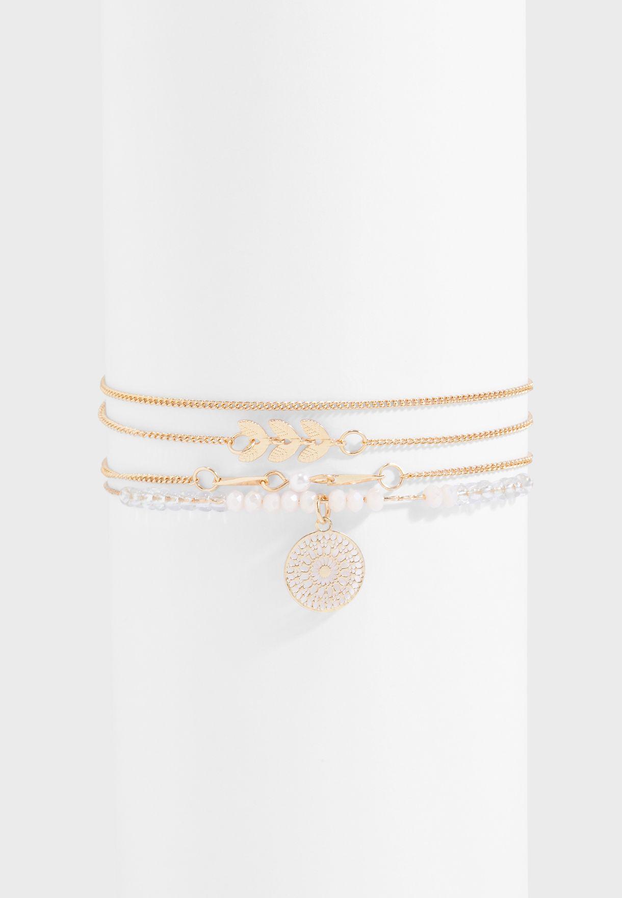 Rudder Bracelets Set