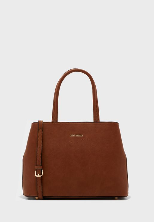 Camellia Top Closure Satchel