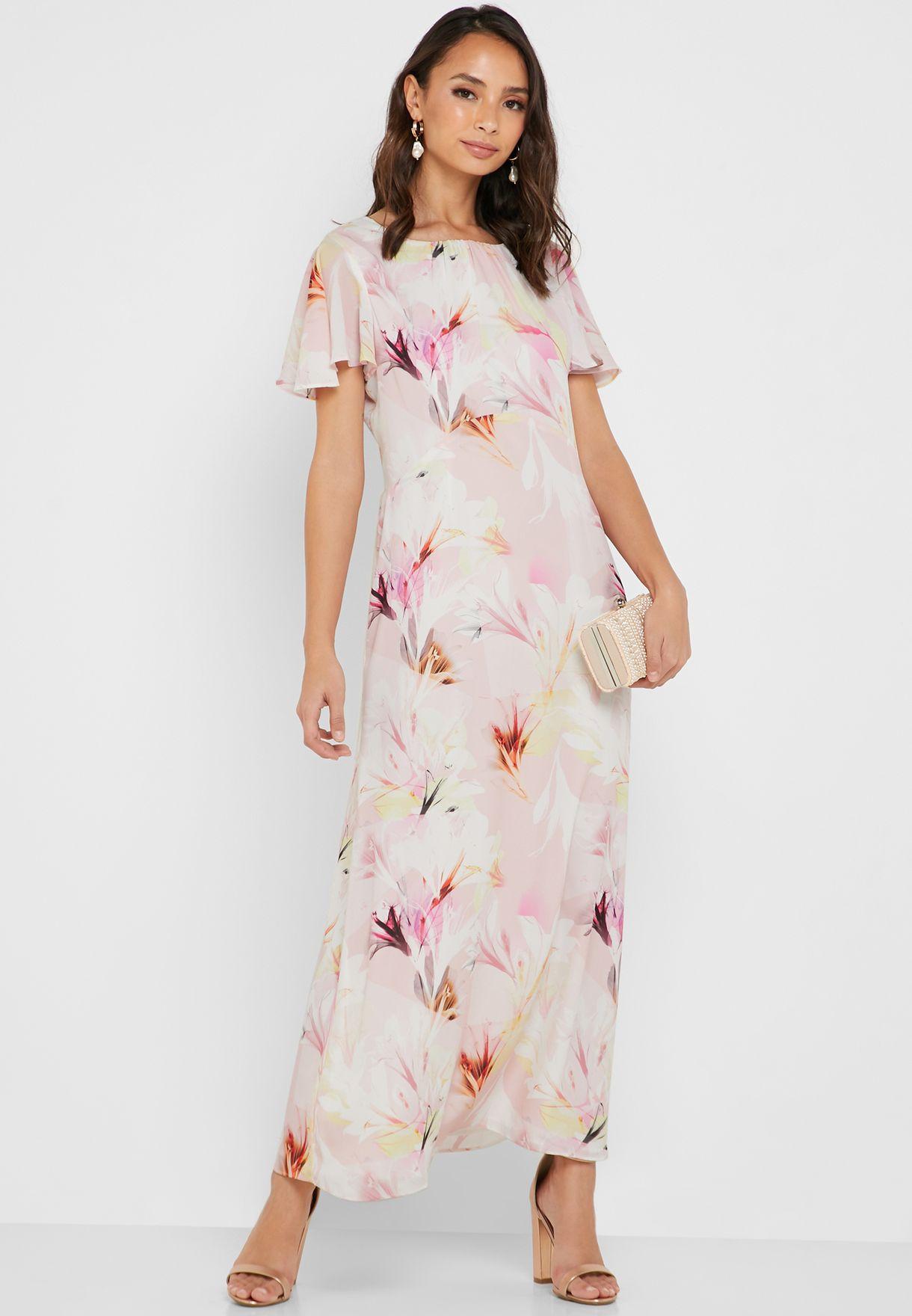 4854f038c3f Shop Wallis Petite prints Floral Print Maxi Dress 99113017 for Women ...