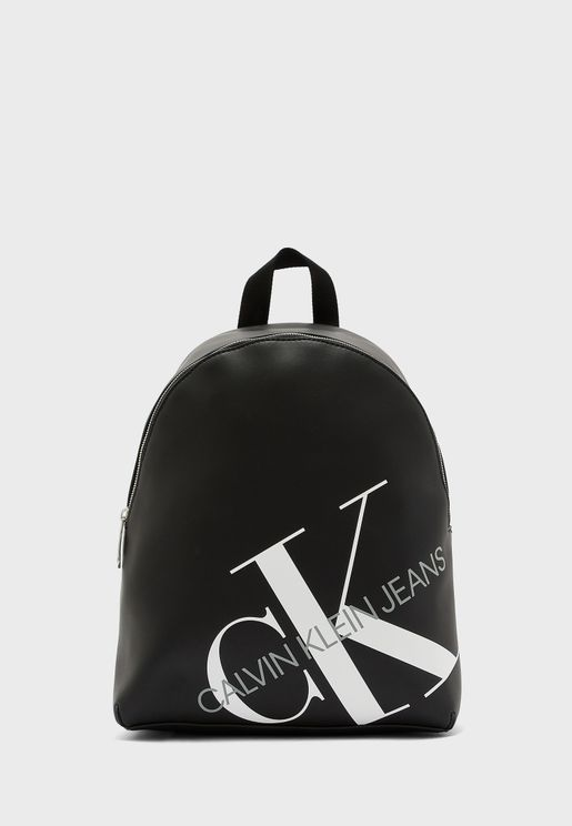 Logo Printed Backpack