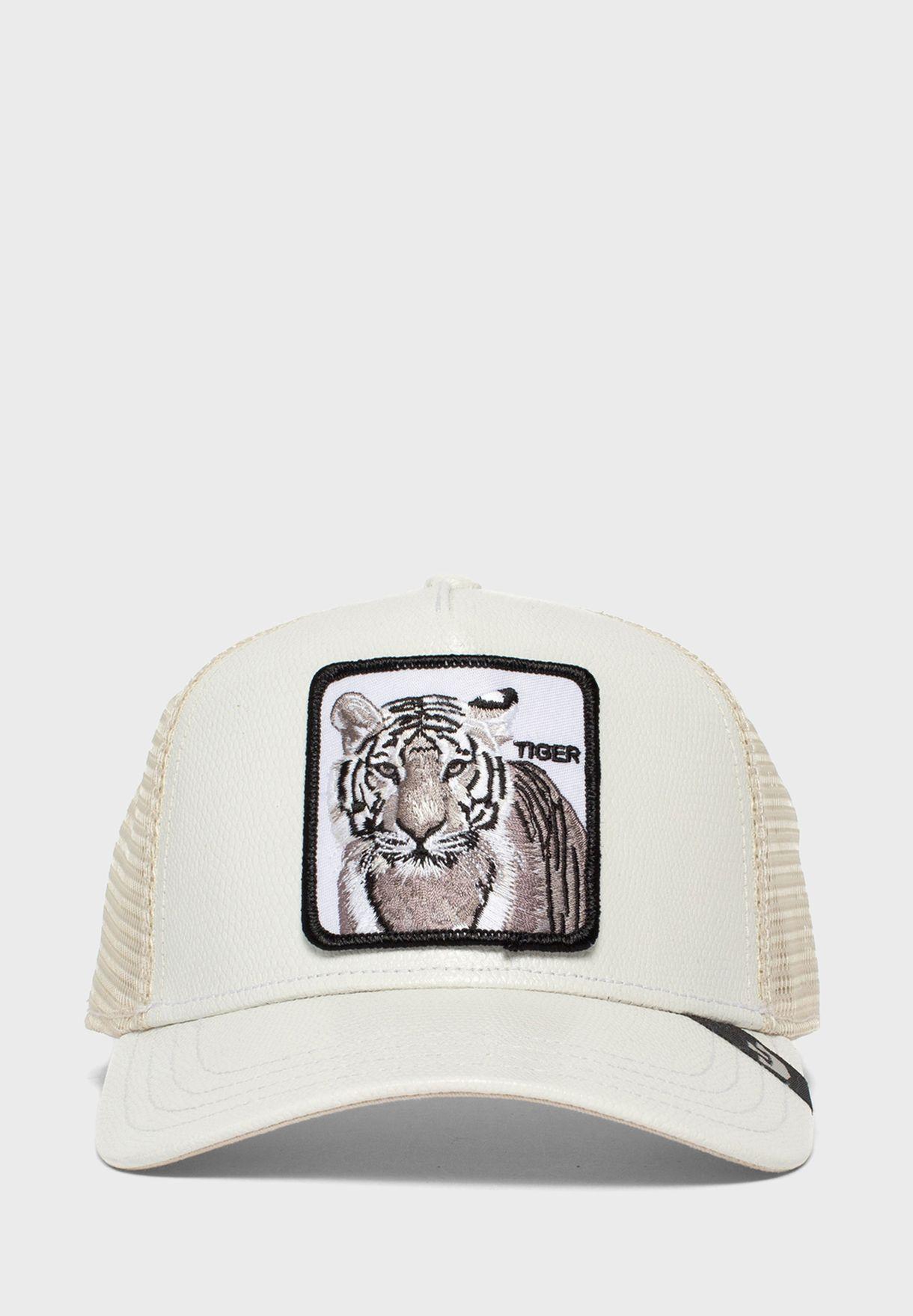 Tiger Curved Peak Cap