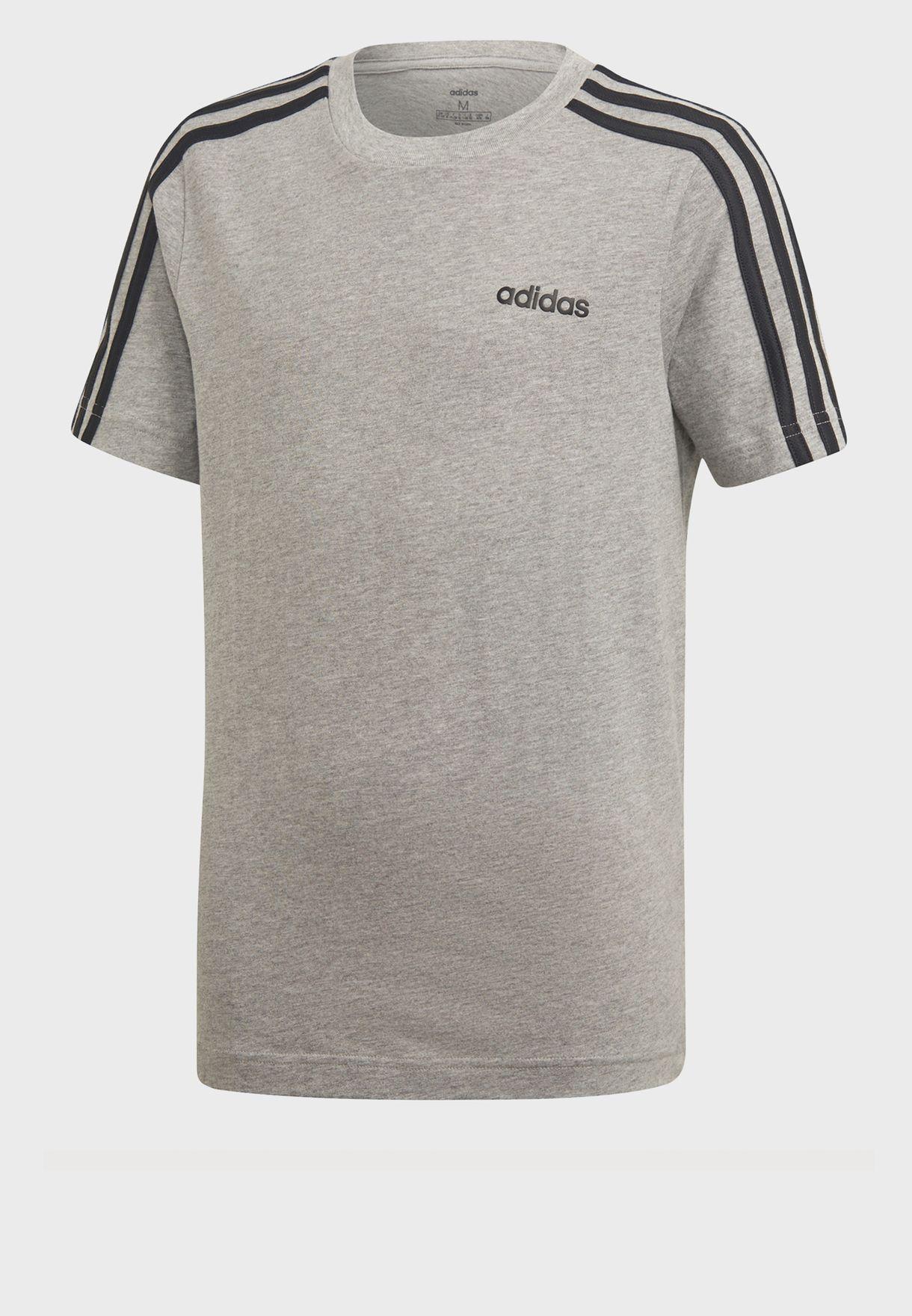 Youth Essential 3 Stripe T-Shirt