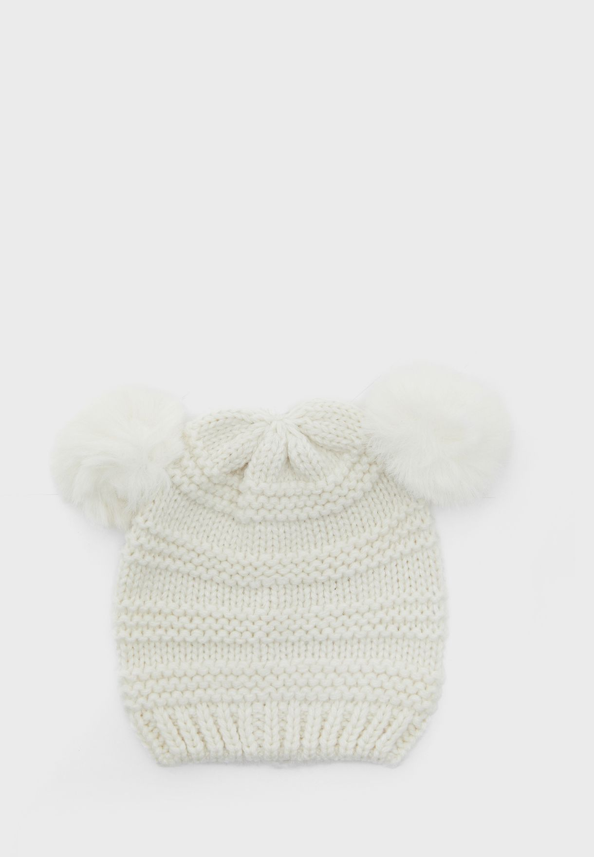 مجموعة 2 قبعة محبوكة للاطفال
