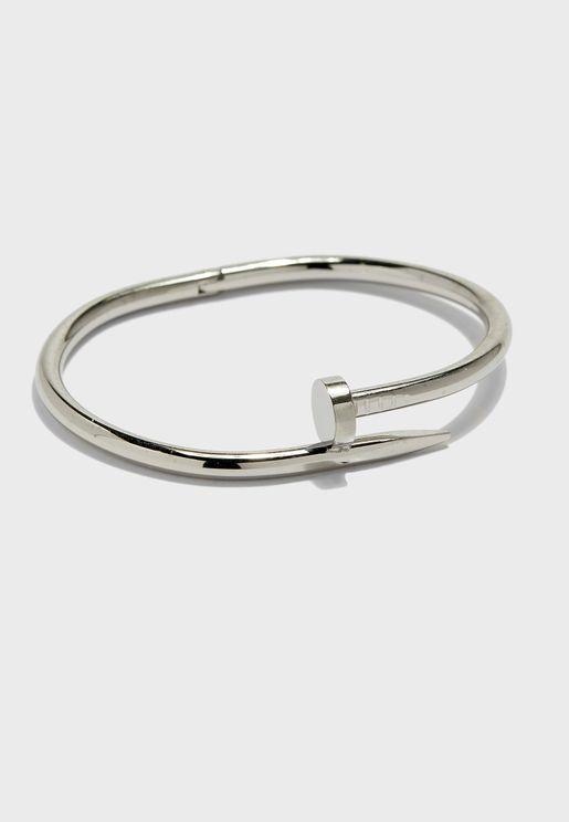 Casual Metal Bracelet