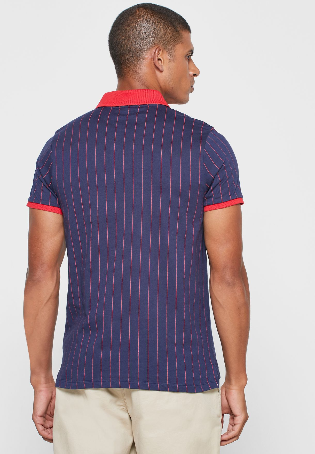 BB1 CLASSIC VINTAGE STRIPED POLO