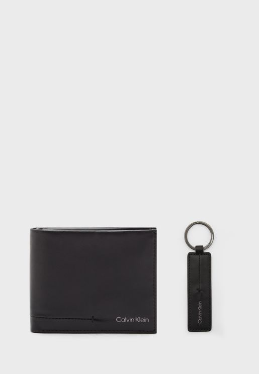 Wallet And Key Chain Set
