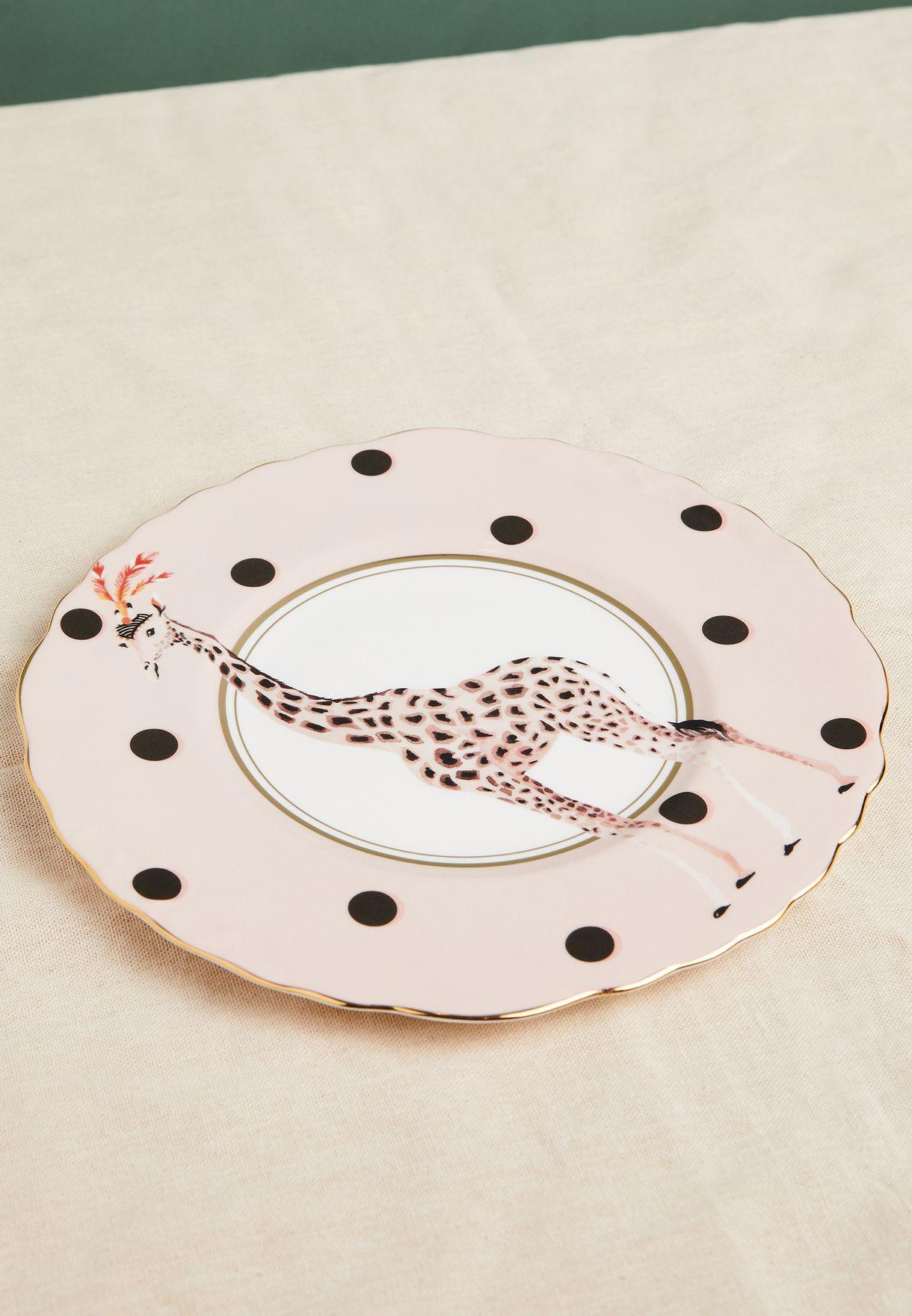 Giraffe Sandwich Plate