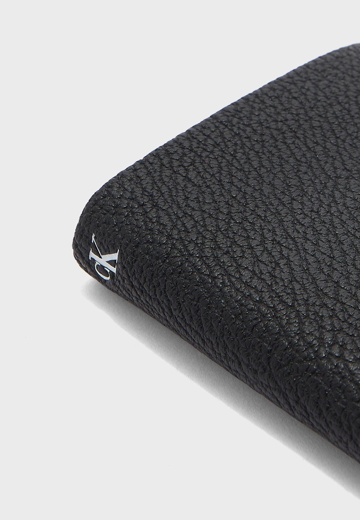 Logo Textured Wallet