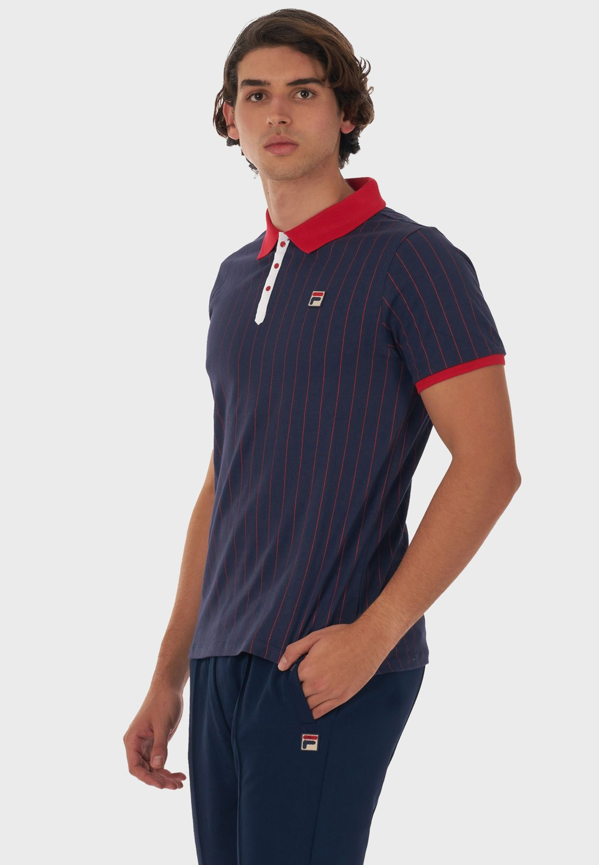 BB1 Classic Vintage Stripped Polo
