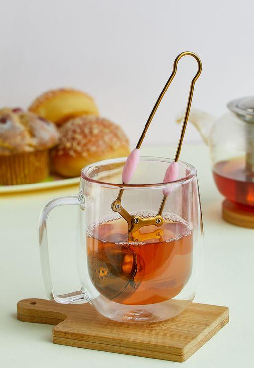Pink Stainless Steel Tea Infusers
