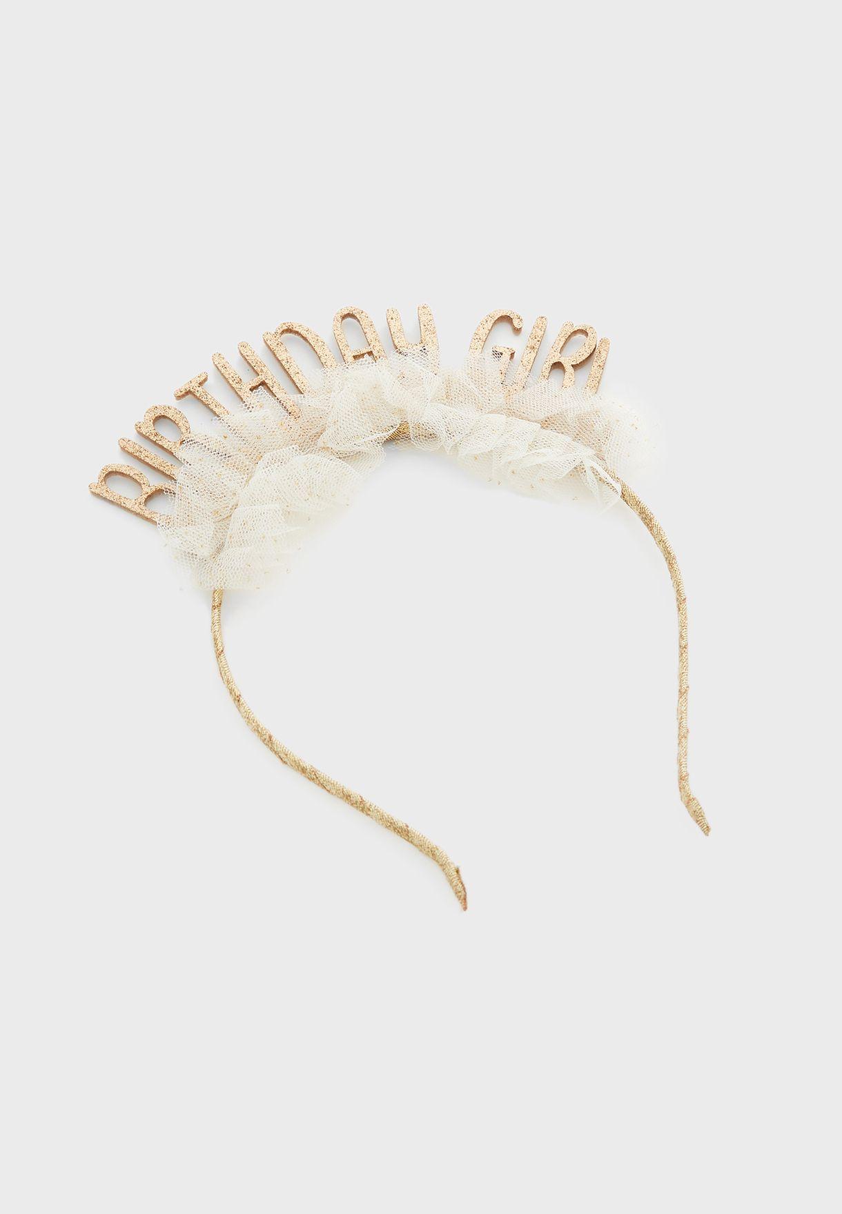 Kids Birthday Headband