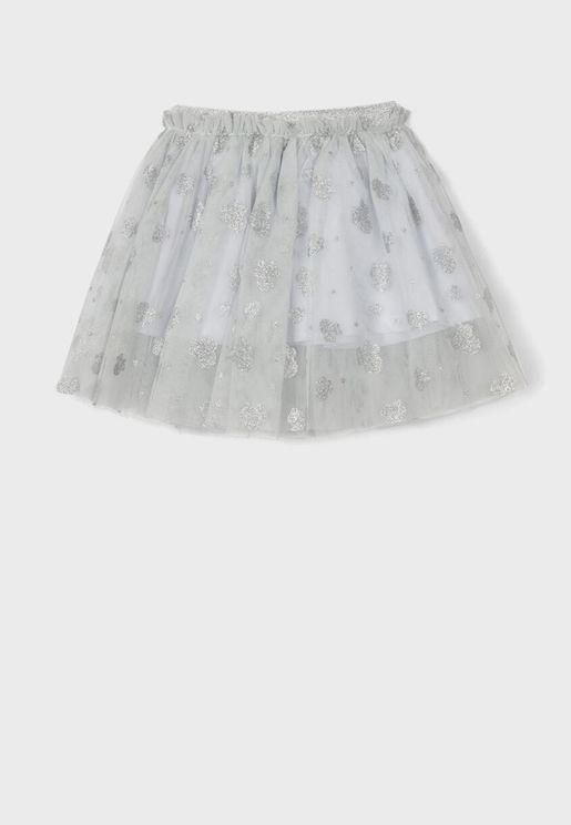 Kids Minnie Mouse Tulle Skirt