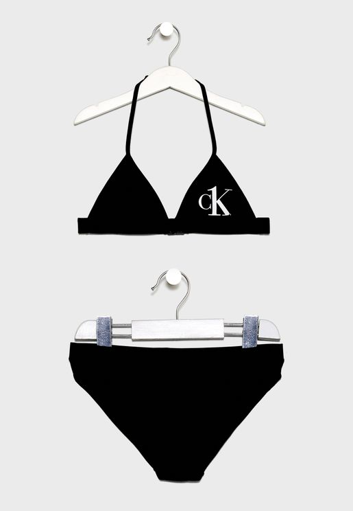 Kids Triangle Bikini Set
