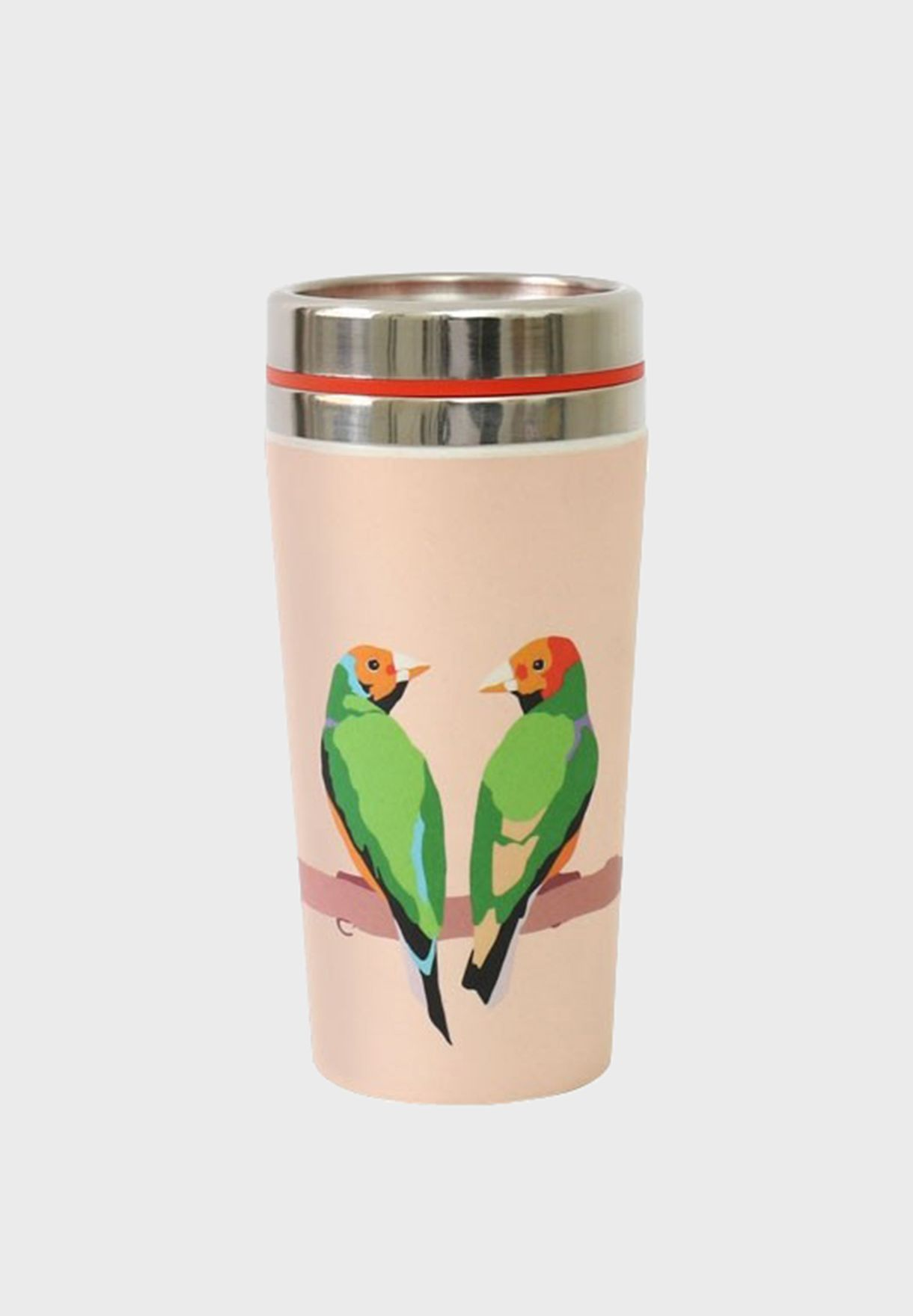 Parrot Printed Travel Flask