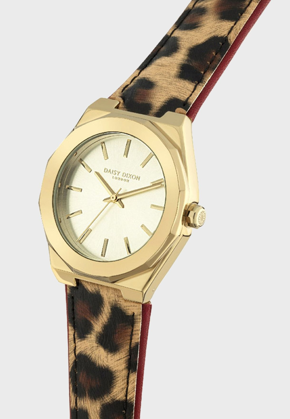 Alessandra Quartz Analog Watch With Clutch