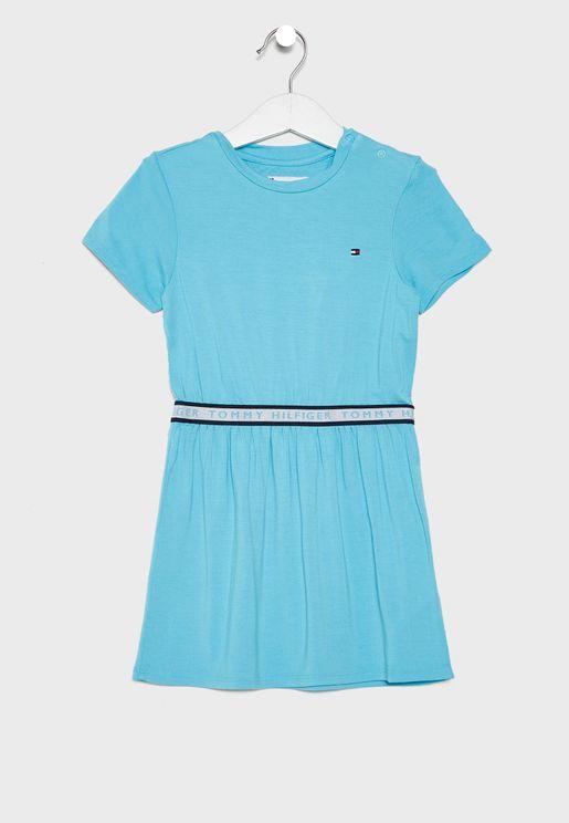 Kids Logo Tape Dress