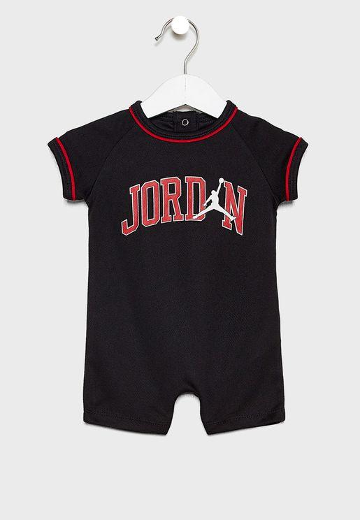 Infant Jordan Mesh 23 Romper