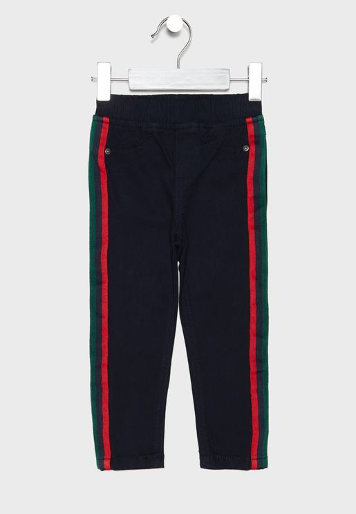Kids Side Tape Pants