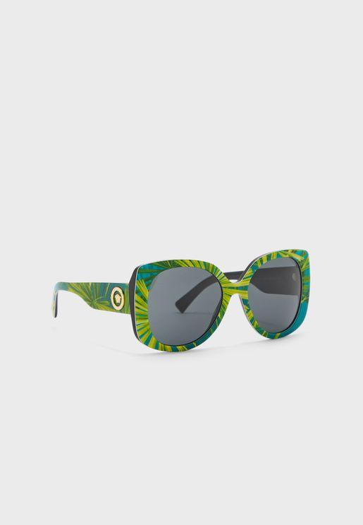 0VE4387 Oversized Sunglasses
