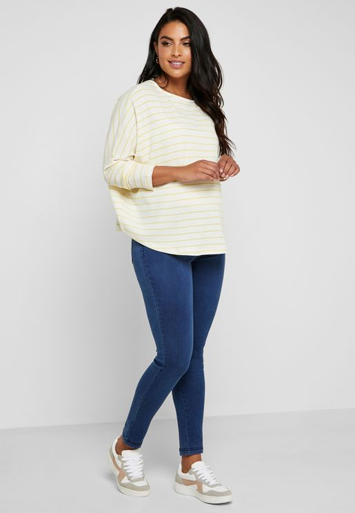 89ee90641b Eden Mid Wash Skinny Jeans. MATERNITY