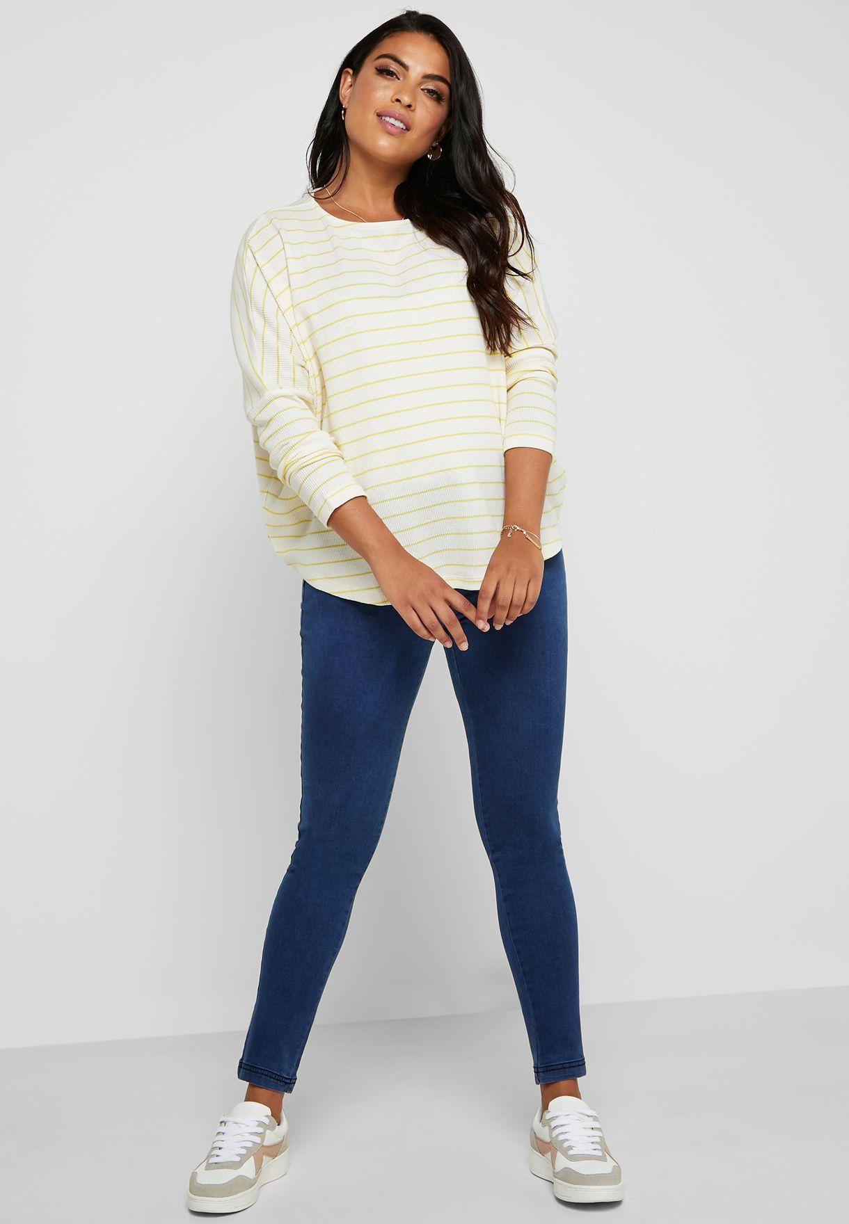 Eden Mid Wash Skinny Jeans